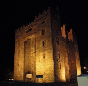 Bunratty at Halloween, moving to ireland with kids